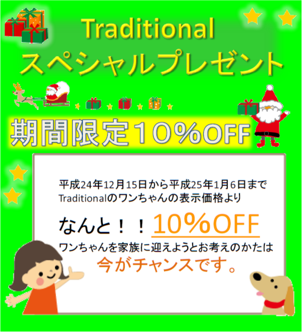 Traditional10%OFF