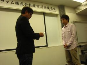 湧田さんBIANCO準社員へ