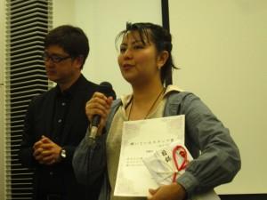 輝いているスタッフMS部門は那覇店の比嘉真智子さん!!おめでとうございます。今回は3回選ばれていました。比嘉さんはエイジス部門でも2回選ばれていました。素晴らしいことです。